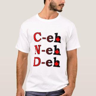 T-shirt C-hein N-hein D-hein fierté de Canadien de chemise