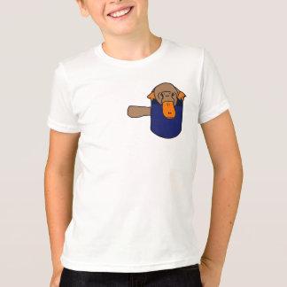 T-shirt CA ornithorynque dans une chemise de poche