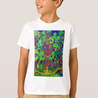 T-shirt Cabane dans un arbre de magie de Piliero