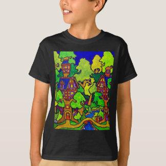 T-shirt Cabane dans un arbre de magie d'enfants