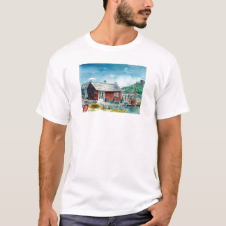 T-shirt cabane rouge chez Menemsha