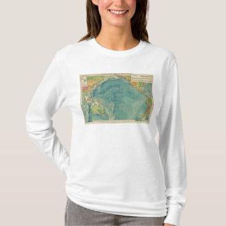 T-shirt Câbles de l'océan pacifique, stations sans fil