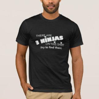 T-shirt caché de Ninjas
