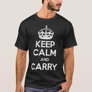 T-shirt Caché portez