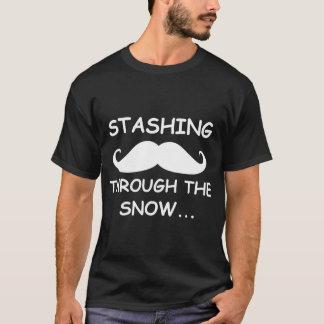 T-shirt Cacher drôle par la chemise d'obscurité de