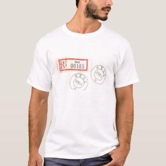 T-shirt Cachets de la poste norvégiens d'enfer de la