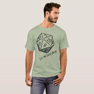 T-shirt Cachots et dragons : Laissez les destins décider