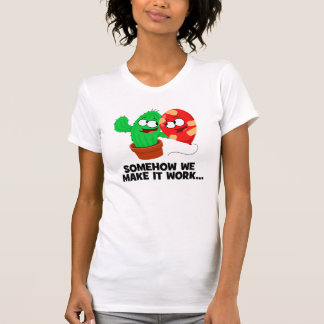 T-shirt Cactus et ballon