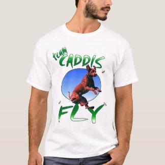T-shirt caddis d'équipe foncés