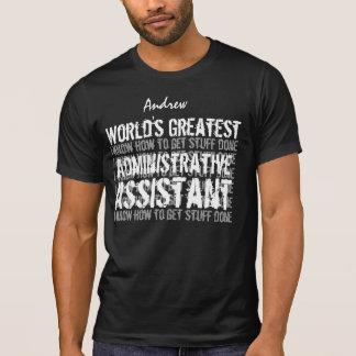 T-shirt Cadeau 05 du monde d'ASSISTANT ADMINISTRATIF le