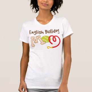 T-shirt Cadeau anglais de maman de race de chien de
