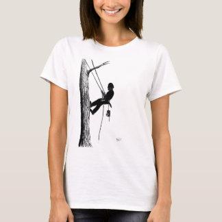 T-shirt Cadeau de cadeau de Noël d'arboriste de chirurgien