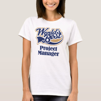 T-shirt Cadeau de chef de projet