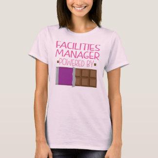 T-shirt Cadeau de chocolat de directeur d'équipements pour