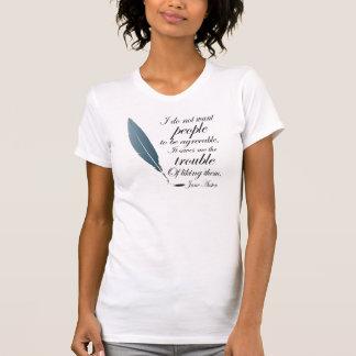 T-shirt Cadeau de citation de Jane Austen