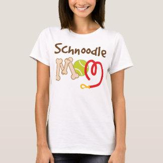 T-shirt Cadeau de maman de race de chien de Schnoodle