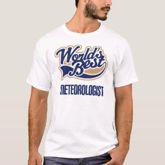 T-shirt Cadeau de météorologiste (mondes meilleurs)