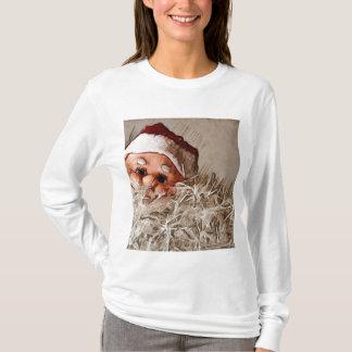 T-shirt Cadeau de Noël avec le père noël