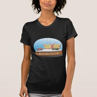 T-shirt Cadeau de Noël de voiture d'Eco