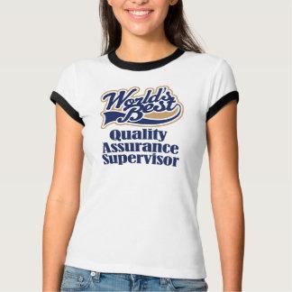 T-shirt Cadeau de surveillant de garantie de qualité