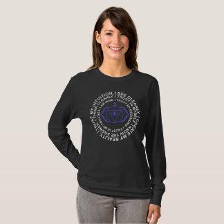 T-shirt Cadeau de yogi de cool d'incantation d'Ajna Chakra