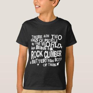 T-shirt Cadeau (drôle) de grimpeur de roche