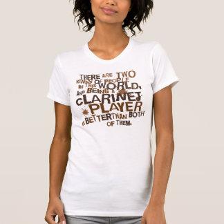 T-shirt Cadeau (drôle) de joueur de clarinette
