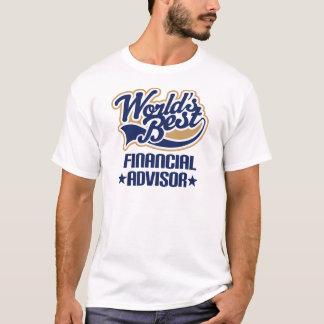 T-shirt Cadeau financier de conseiller