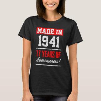 T-shirt Cadeau parfait pour le soixante-dix-septième