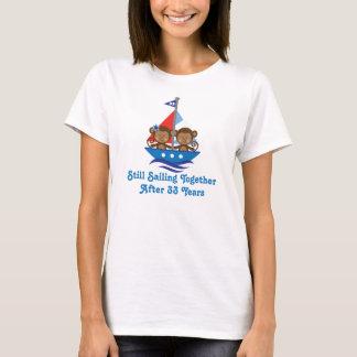 T-shirt Cadeau pour les trentes-troisième singes
