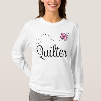T-shirt Cadeau rose mignon de Quilter