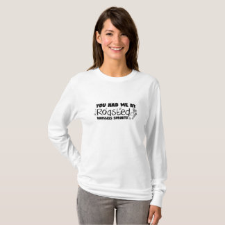 T-shirt Cadeau végétarien rôti de chef de Bruxelles