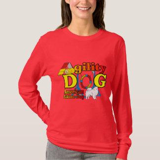 T-shirt Cadeaux américains d'agilité de chien esquimau