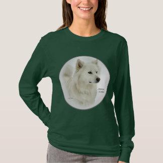 T-shirt Cadeaux américains d'art de chien esquimau
