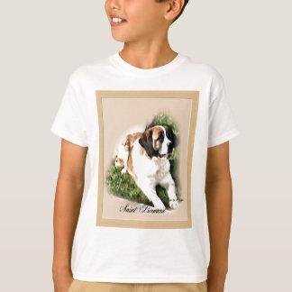 T-shirt Cadeaux d'amants de St Bernard