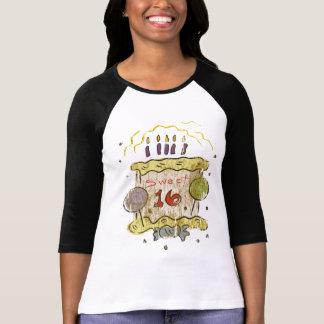 T-shirt Cadeaux d'anniversaire de sweet sixteen