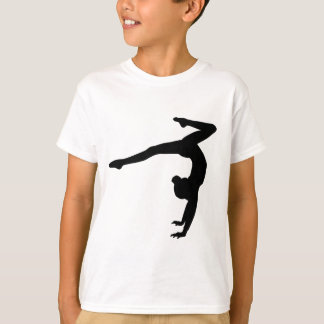 T-shirt Cadeaux d'appui renversé de mâle de gymnaste