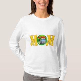 T-shirt Cadeaux de jour de mères de maman de camping