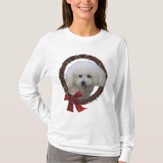 T-shirt Cadeaux de Noël de Bichon Frise