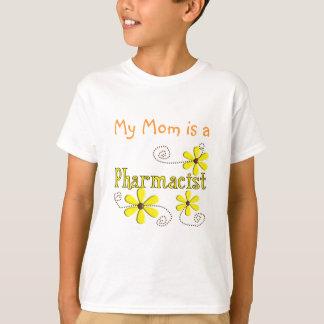 T-shirt Cadeaux de pharmacien, marguerites jaunes