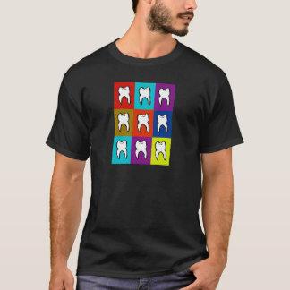T-shirt Cadeaux de Popart de dentiste
