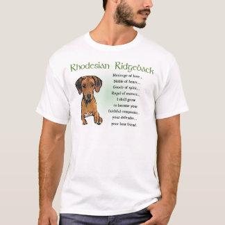 T-shirt Cadeaux de Rhodesian Ridgeback