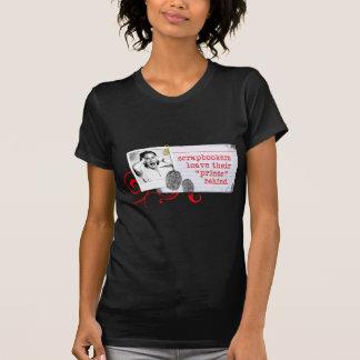 T-shirt Cadeaux de Scrapbooking des cultures de chaux