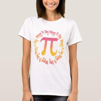 T-shirt Cadeaux et tee - shirt de jour du gradient pi de