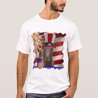 T-shirt CADEAUX PATRIOTIQUES de CHÈVRE 4 juillet