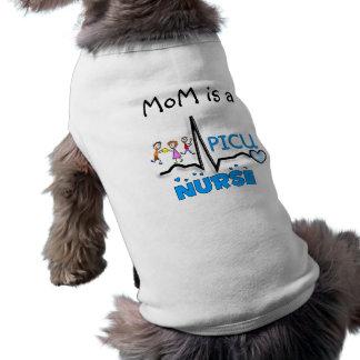 T-shirt Cadeaux-QRS segment d'infirmière de PICU et concep