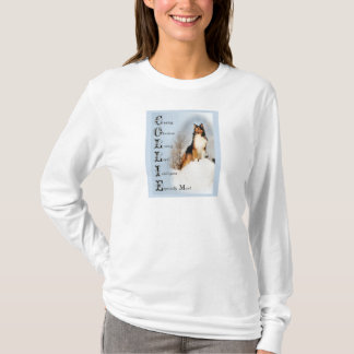 T-shirt Cadeaux rugueux de colley de sable