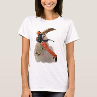 T-shirt Cadeaux vintages et salutations d'Oncle Sam de vol