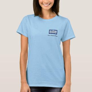 T-shirt Cadres d'objet immobilier, bébé personnalisé -
