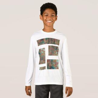T-shirt Cadres urbains de cuivre brûlés d'exagération